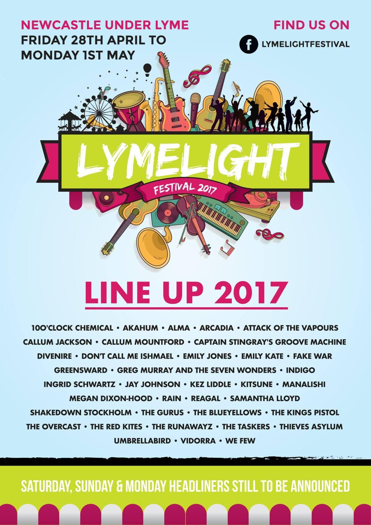 Lymelight Festival 2017